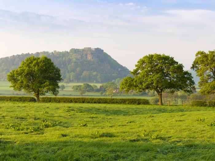 Beeston Castle and Sandstone Ridge Landscape