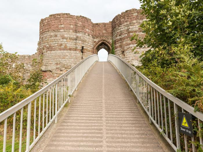 Beeston Castle in October 5
