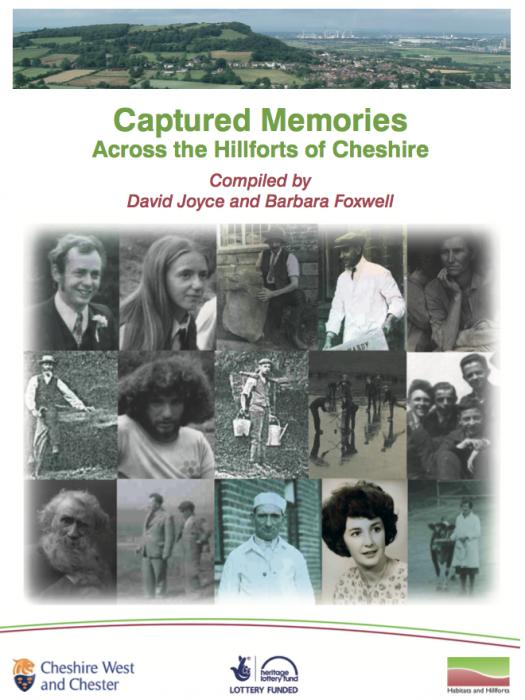 Captured Memories front cover