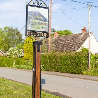 Cheshire - Besston Village Sign