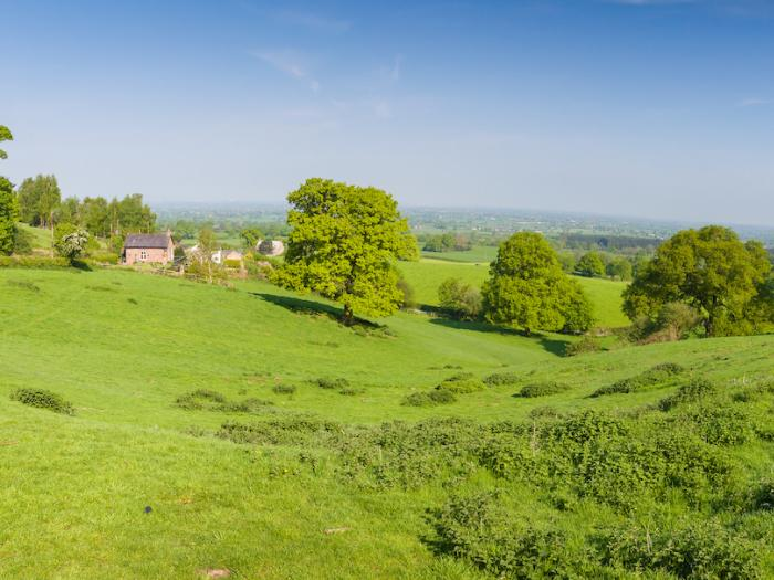 Panoramic View of the Cheshire Plain from the Pheasant Inn, Burwardsley 2