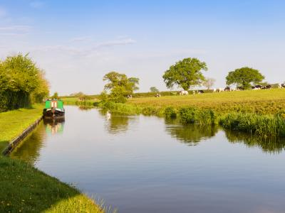 Shropshire Union Canal and Cheshire Landscape